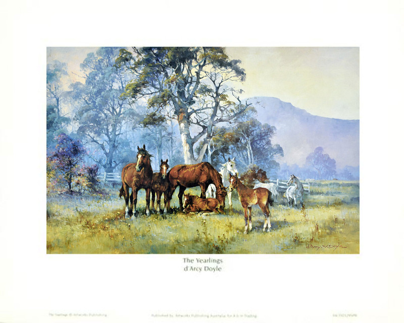 The Yearlings - Small - Framed Art Print | Frameshop