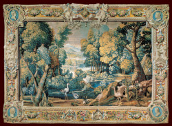 Landscape Tapestry by Anonymous