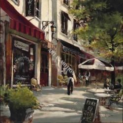 Boulevard Cafe by Brent Heighton