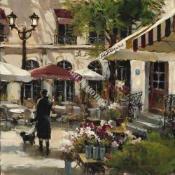 Floral Promenade by Brent Heighton