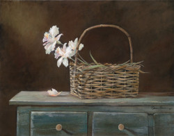 Orchid Basket by Ruane Manning
