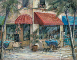 Cafe of the Arts by Ruane Manning