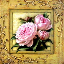 Pretty in Pink Peonies by Igor Levashov