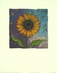 Sunflower of Colour by Julia Hawkins
