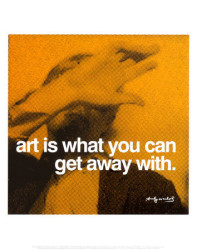 Art is What by Andy Warhol