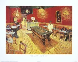 Cafe de nuit by Vincent Van Gogh
