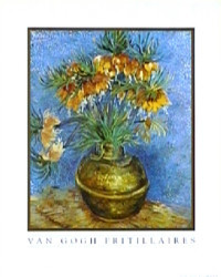 Fritillaires by Vincent Van Gogh
