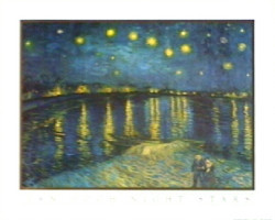 Night Stars by Vincent Van Gogh