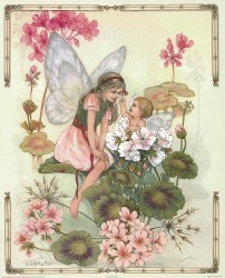 The Geranium Fairy by Joy Scherger
