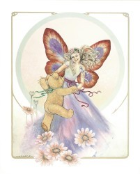Fairy Waltzing with Daisies by Joy Scherger
