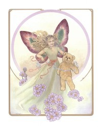 Fairy & Teddy by Joy Scherger