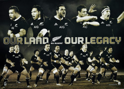 The All Blacks Our Land Our Legacy Limited Edition of 1000
