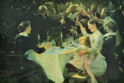 Hip Hip Hurra by Peder Severin Kroyer