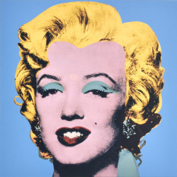 Shot Blue Marilyn by Andy Warhol