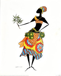 Baga Woman by Augusta Asberry