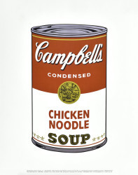 Campbell's Soup I by Andy Warhol