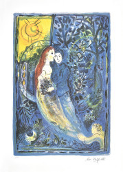 The Wedding by Marc Chagall