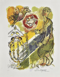 Star by Marc Chagall