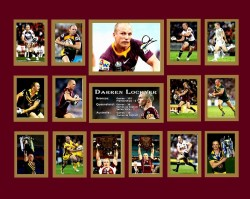 Darren Lockyer Limited Edition of 500