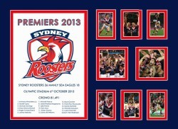 Sydney Roosters Premiers 2013 Limited Edition of 500
