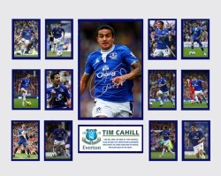 Tim Cahill - Everton Limited Edition of 500