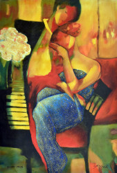 Caressing in B-Major by Gholam Yunessi
