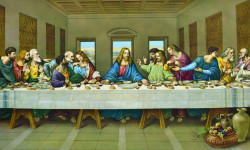Last Supper by Unknown