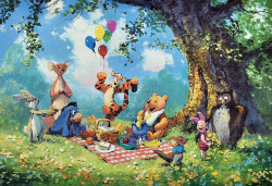 Splendiferous Picnic - Disney by James Coleman