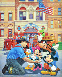 Engine 55 - Disney by Manny Hernandez