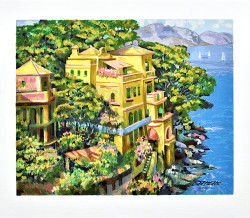 Villa Portofino by Howard Behrens
