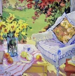 Morning in the Garden by Shirley Murray