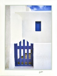 The Blue Gate by Cebo