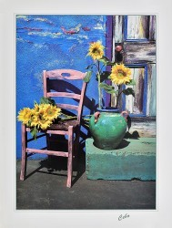 Sunflowers on the Chair