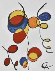 Twirls by Alexander Calder