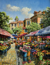 Nice Flower Market by Sam Park