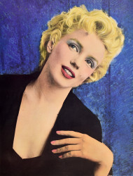 Marilyn Monroe (coloured)