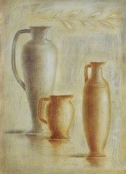 Amphoras I by Lewman Zaid