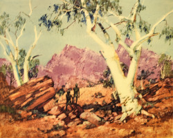 Ghost Gums & Red Range of the MacDonnells by C Dudley Wood