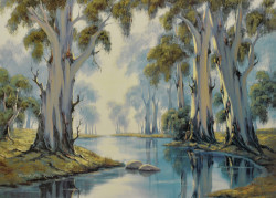 Tributary to the Murray by John Falzon