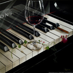 Key to Wine by Michael Godard