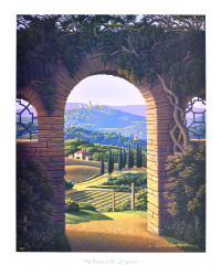 The Towers of San Gimignano by Jim Buckels
