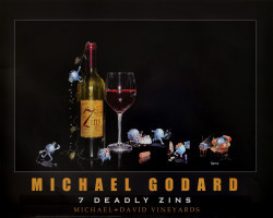 7 Deadly Zins by Michael Godard
