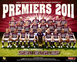 Manly Warringah Sea Eagles - Premiers 2011