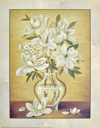 White Magnolias by Cebo