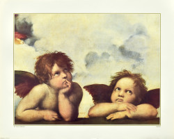 Little Angels from The Sistine Madonna by Raphael