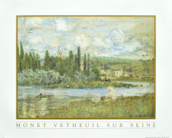 Vetheuil Sur Seine by Claude Monet