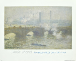 Waterloo Bridge Gray Day - 1903