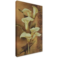Calla Lillies by Stretched Canvas