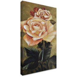 Garden Rose I by Stretched Canvas