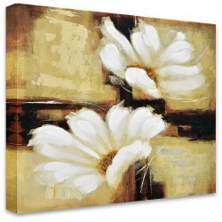 Flowers in the Breeze by Stretched Canvas